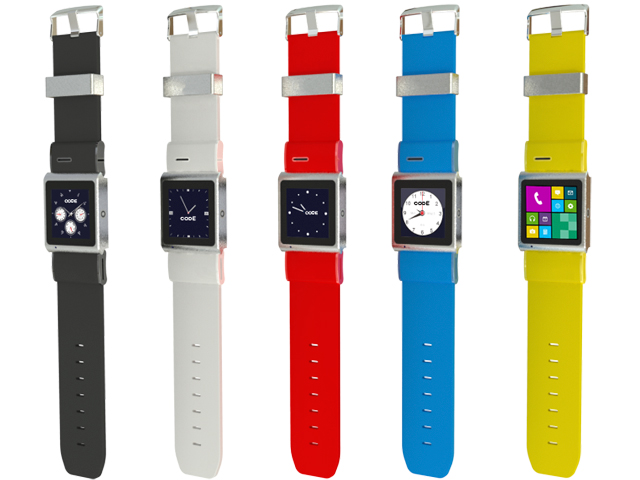 Evolution, smartphone wearable en diferentes colores